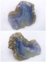 Modrý achát/ chalcedón